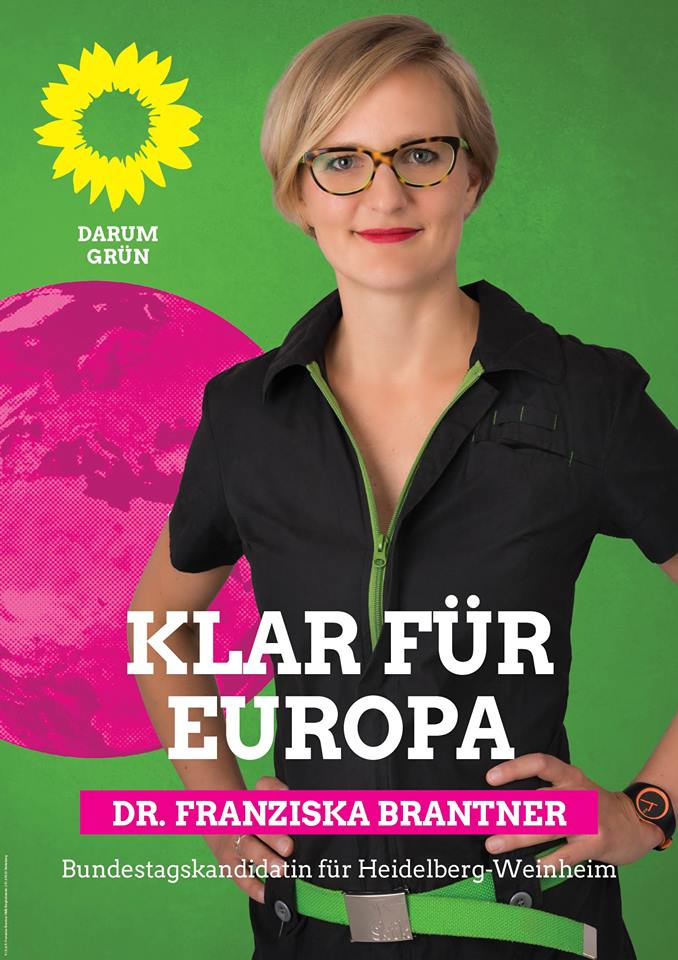 Plakat Franziska Brantner Europa