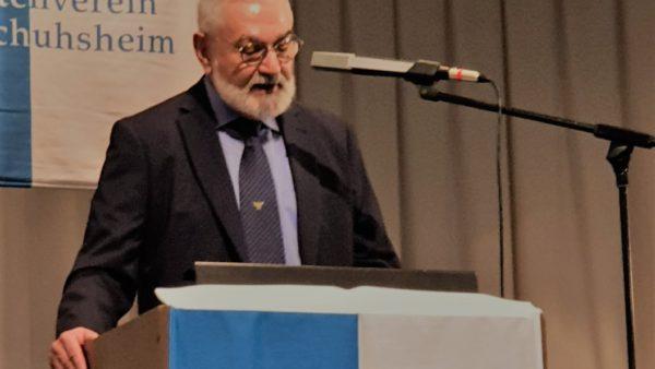 Neujahrsempfang Handschusheim: Grußwort von Bürgermeister Wolfgang Erichson