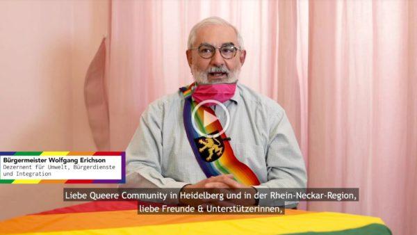 IDAHOBIT* 2020: Rede von Bürgermeister Erichson