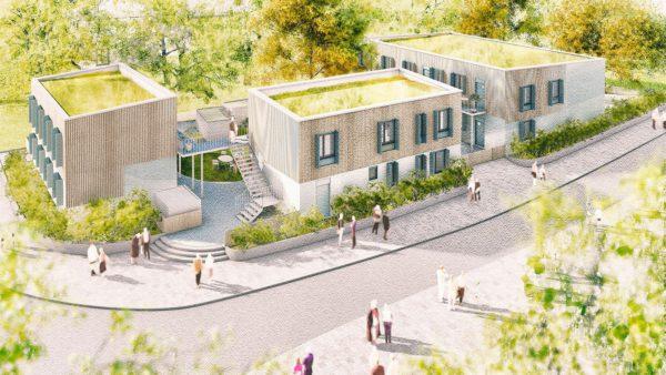 Ankunftszentrum für geflüchtete Menschen in Heidelberg