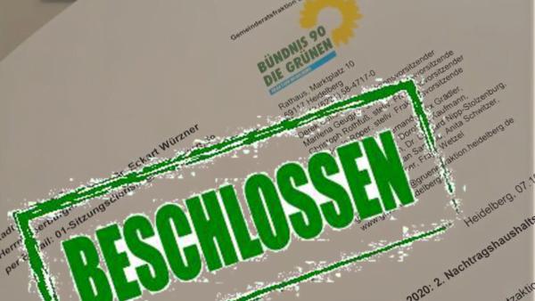 Grüne ermöglichen Gelder für Klimaschutzaktionsplan